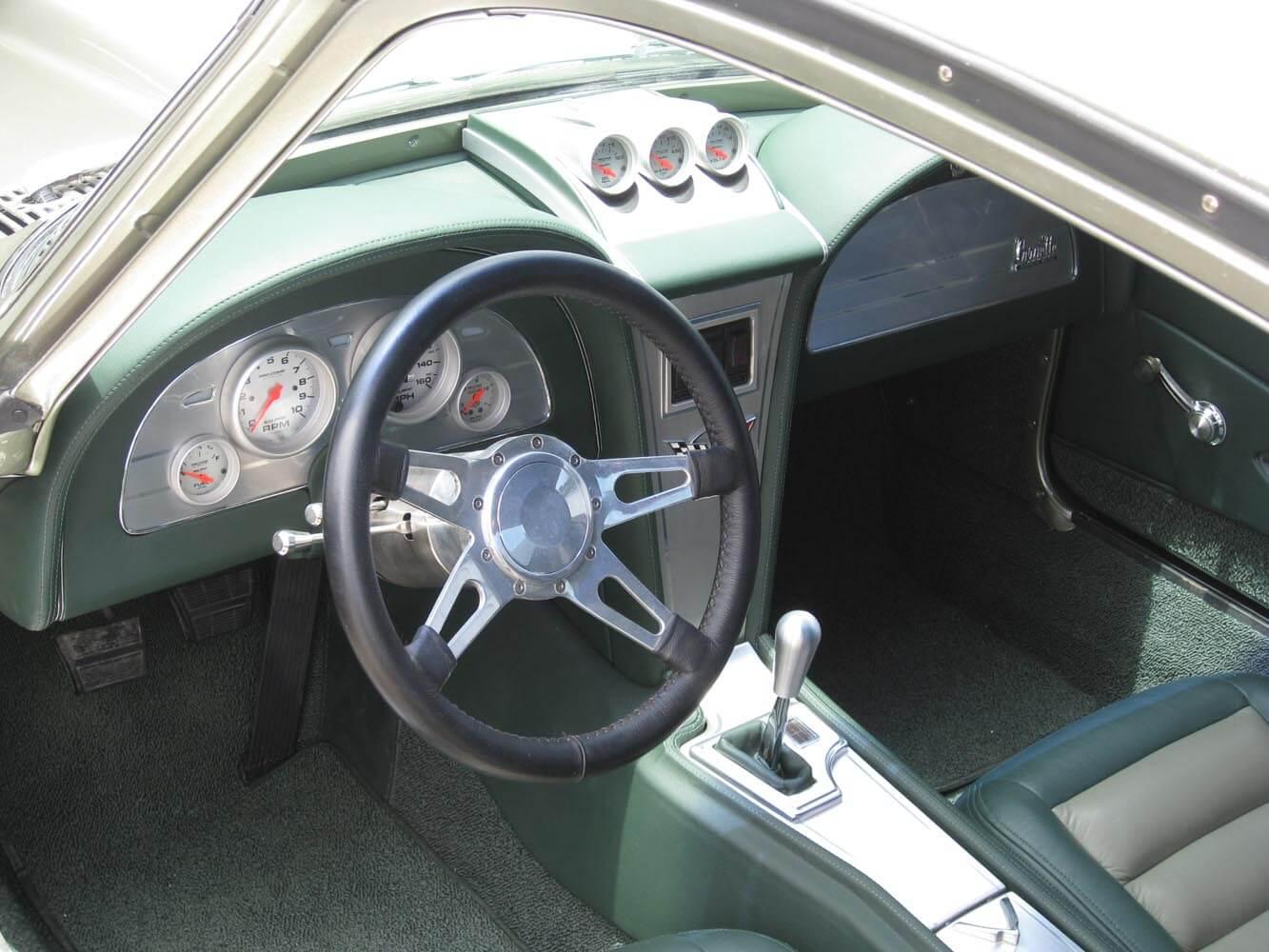 bill and char s 1967 chevy corvette interior kidd darrin 39 s custom cars. Black Bedroom Furniture Sets. Home Design Ideas