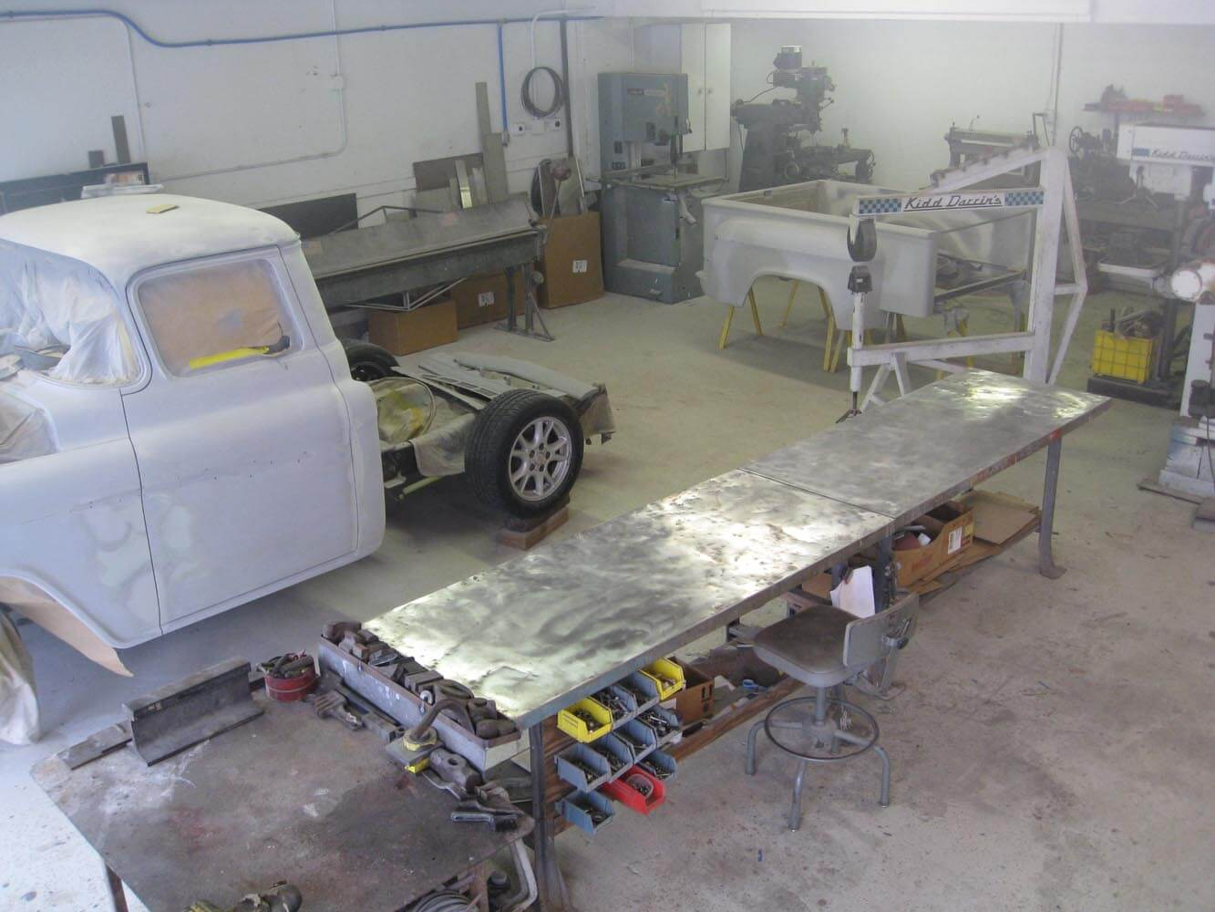 Shop Pictures Kidd Darrin's Restoration and Custom Cars Melbourne Florida