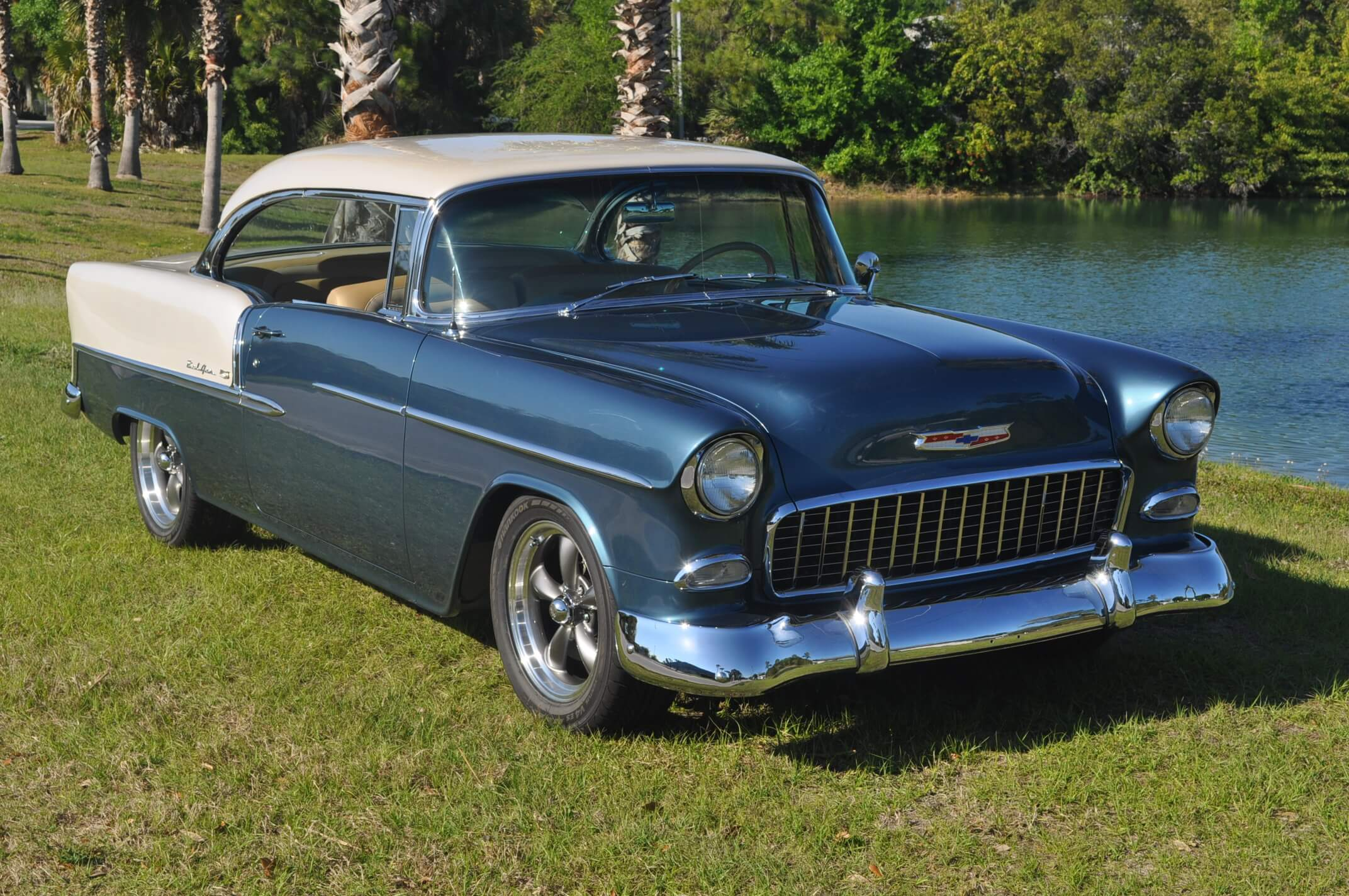 Paul Isman's 55 Bel Air done 143 Kidd Darrin's Restoration and Custom Cars Melbourne Florida
